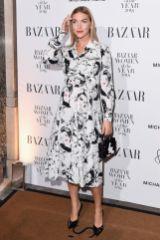 Arizona Muse in Michael Kors e gioielli Chopard ai Harper's Bazaar Women of the Year Awards 2018