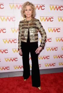 Jane Fonda ai Women's Media Awards, New York