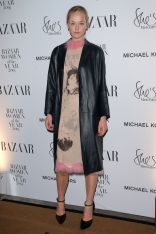 Jean Campbell in Christopher Kane ai Harper's Bazaar Women of the Year Awards 2018