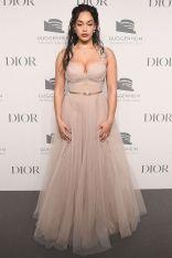 Jorja Smith in Dior al Guggenheim International Gala dinner, New York