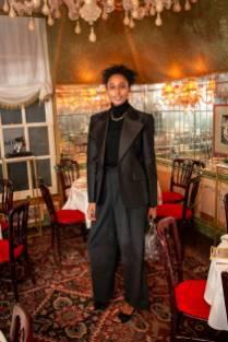 Julia Sarr-Jamois alla Gianvito Rossi dinner, London