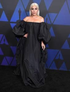 Lady Gaga in Valentino ai The Governors Awards, Hollywood