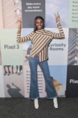 Leomie Anderson al Google Pixel 3 Curiosity Rooms Launch, London