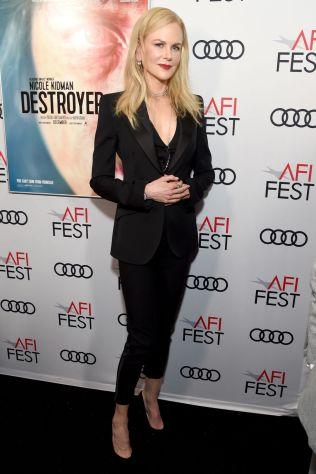 Nicole Kidman in Dolce & Gabbana alla Destroyer screening all'AFI FEST
