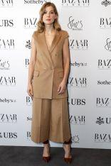 Rosamund Pike in Max Mara al Bazaar Summit