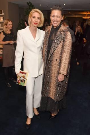 Sabine Getty e Emilia Wickstead alla Leopards' Prince's Trust Winners Reception, Fortnum & Mason, London