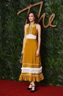 Alexa Chung in ALEXACHUNG ai Fashion Awards 2018, London