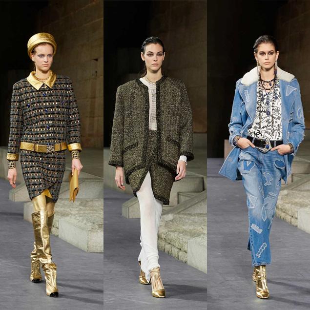 L'antico Egitto secondo Chanel Metiers d'Art Paris-NewYork