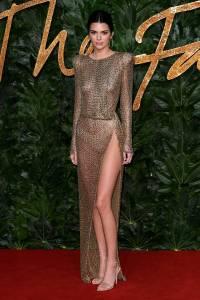 Kendall Jenner ai Fashion Awards 2018, London