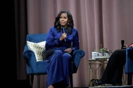 Michelle Obama al lancio di 'Becoming' al TD Garden, Boston