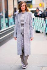 Allison Williams con borsa Mulberry,New York