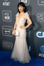 Costance Wu in Rodarte ai 2019 Critics' Choice Awards
