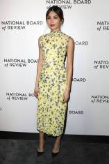 Gemma Chan in Erdem alla National Board of Review Awards Gala, New York