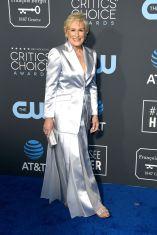 Glenn Close in Gabriela Hearst ai 2019 Critics' Choice Awards