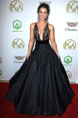 Kate Beckinsale in Yanina COuture ai Annual Producers Guild Awards.