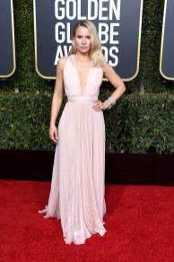 Kristen Bell ai Golden Globes 2019