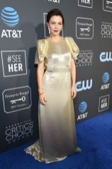 Maggie Gyllenhaal in Prada ai 2019 Critics' Choice Awards