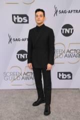 Rami Malek in Christian Dior ai SAG Awards 2019