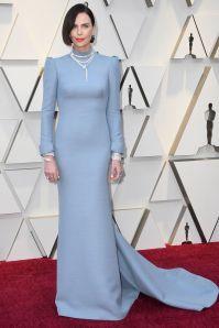 Charlize Theron in Dior e gioielli Bulgari agli Oscars 2019,LA