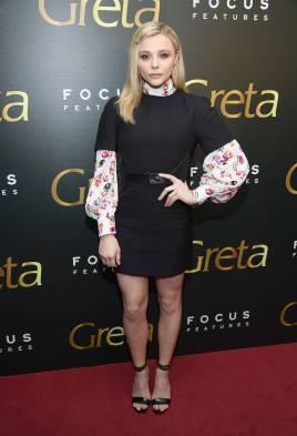 Chloe Grace Moretz al Greta Screening, New York
