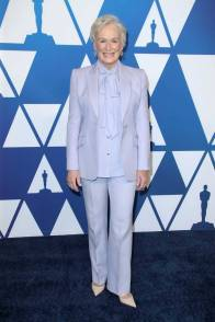 Glenn Close in Alexander McQueen ai The Academy Awards Nominees Luncheon, Los Angeles