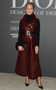 Lottie Moss al Christian Dior Designer of Dreams opening, V&A