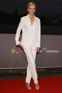 Nicole Kidman in Ermanno Scervino e Sergio Rossi pump alla premiere of Destroyer