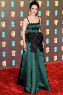 Rachel Brosnahan ai BAFTAs 2019, London