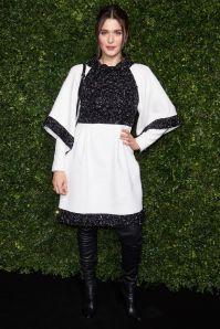 Rachel Weisz in Chanel ai pre-BAFTA dinner