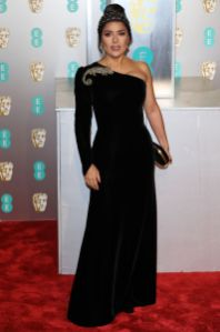 Salma Hayek ai BAFTAs 2019, London