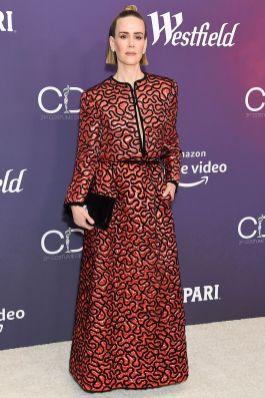 Sarah Paulson in Chanel al Costume Designers Guild Awards