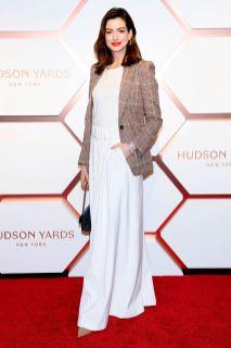 Anne Hathaway al Hudson Yards event, New York