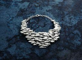 Collana banco di sardine – Giovanni Raspini