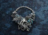 Collana del calamaro gigante – Giovanni Raspini