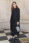 Olivia Palermo in Dior alla sfilata DIor AW 2019/2020