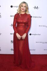 Kate Hudson in Oscar de la Renta ai Daily Front Row Fashion Awards