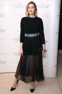 Laura Carmichael in Christopher Kane al The George Michael Collection