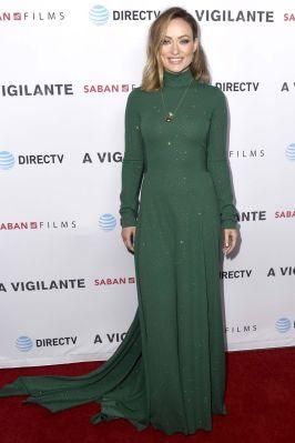 Olivia Wilde alla premiere of A Vigilante, LA