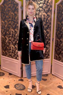 Pixie Geldof al Gucci Zumi eventLondon.