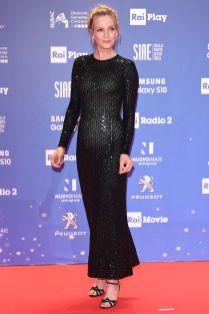 Uma Thurman ai David Di Donatello awards ceremony, Rome