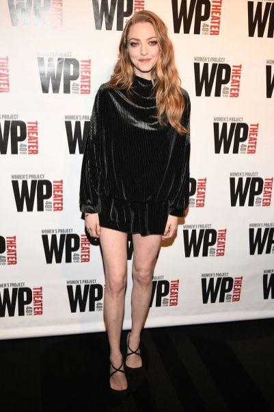 Amanda Seyfried al WP Theatre's Gala, New York.