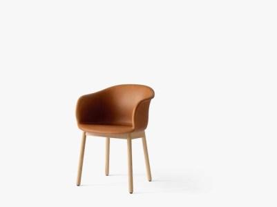 Elefy JH31_Cognac Silk Leather _ Oak