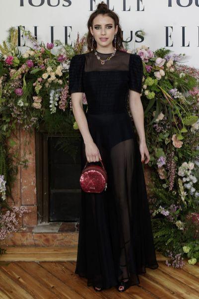 Emma Roberts all'Elle event ,Madrid