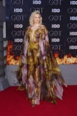 Gwendoline Christie in Iris Van Herpen alla 'Game of Thrones' Season 8 Premiere, New York