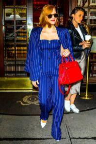Jessica Chastain in Ralph Lauren, New York