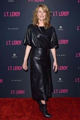 Laura Dern alla premiere of J.T. Leroy., LA