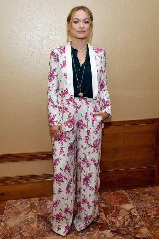 Olivia Wilde in Kate Spade al CinemaCon