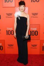 Sandra Oh in Oscar de la Renta al Time 100 Gala