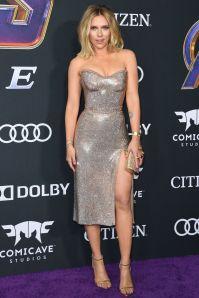 Scarlett Johansson in Sonia Boyajian alla premiere of Avengers Endgame, LA