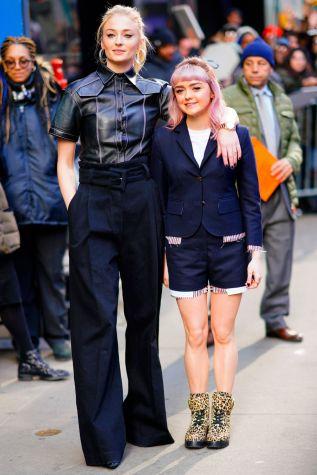 Sophie Turner e Maisie Williams, New York